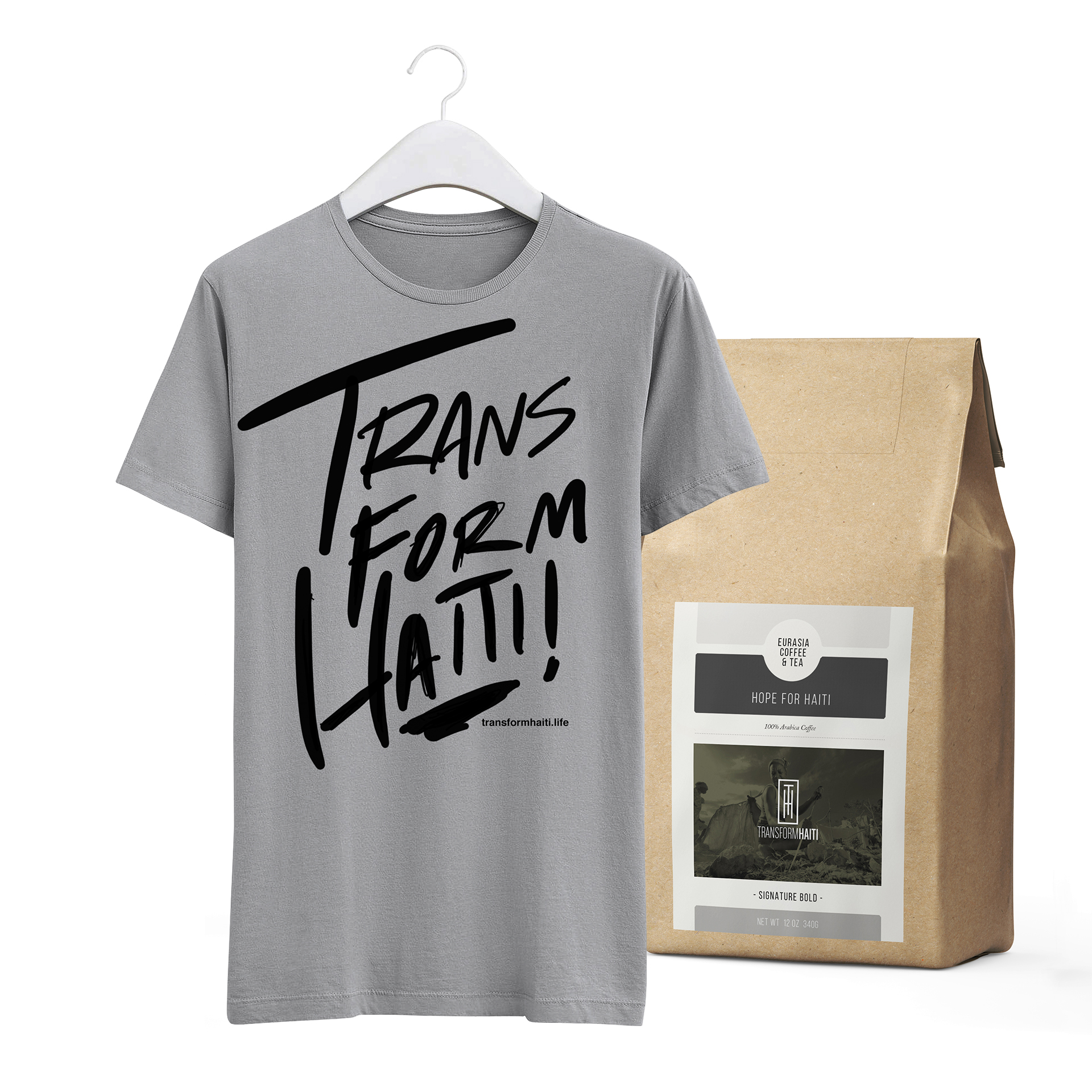 Shirt + Coffee Bundle